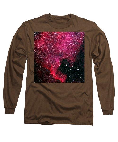 North American Nebula Long Sleeve T-Shirt by Alan Vance Ley