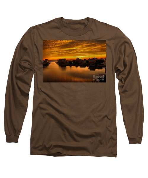 North Carolina Sunset Long Sleeve T-Shirt