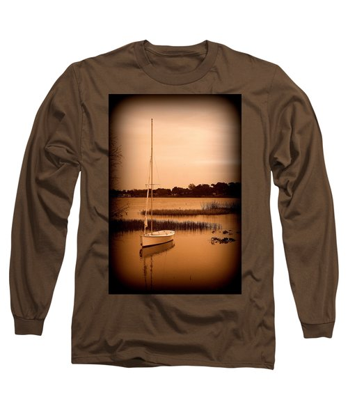 Long Sleeve T-Shirt featuring the photograph Nostalgic Summer by Laurie Perry