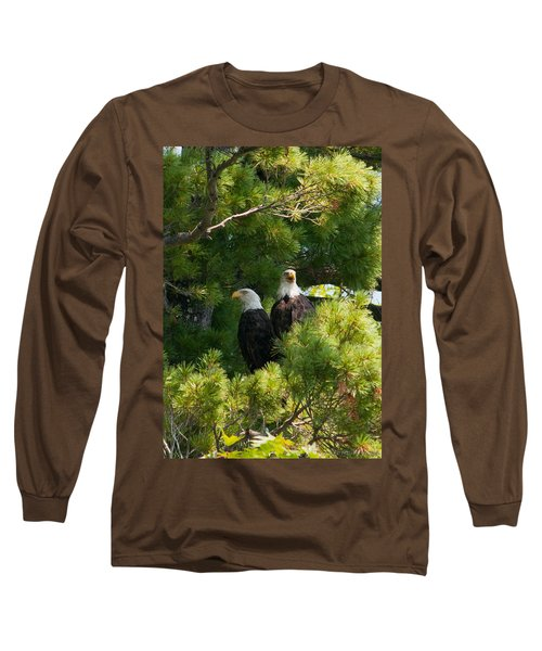 Long Sleeve T-Shirt featuring the photograph Not Listening by Brenda Jacobs