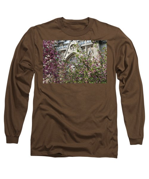 Notre Dame In April Long Sleeve T-Shirt