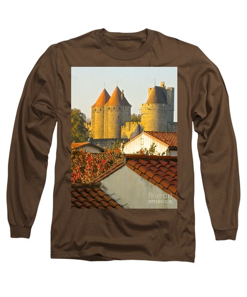 Long Sleeve T-Shirt featuring the photograph Now And Then by Suzanne Oesterling