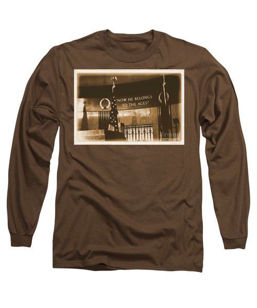 Long Sleeve T-Shirt featuring the photograph Now He Belongs To The Ages by Luther Fine Art