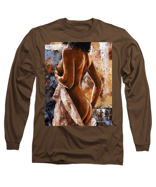 Nude 07 Long Sleeve T-Shirt