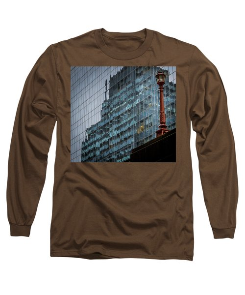 Ny Reflections With Lamp Long Sleeve T-Shirt