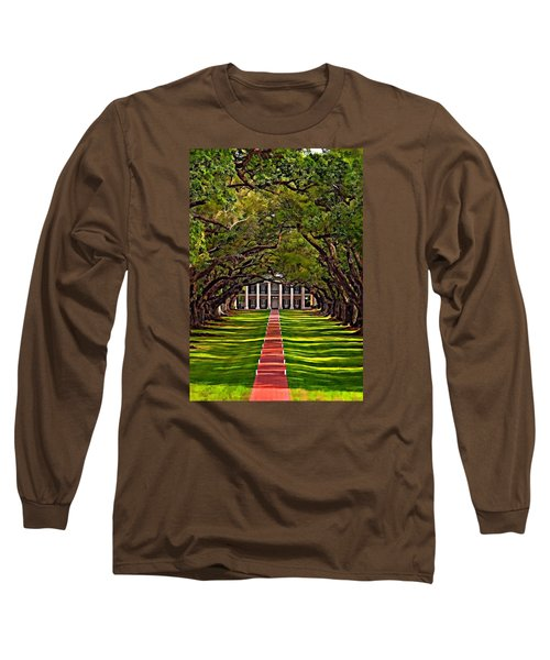 Oak Alley II Long Sleeve T-Shirt by Steve Harrington