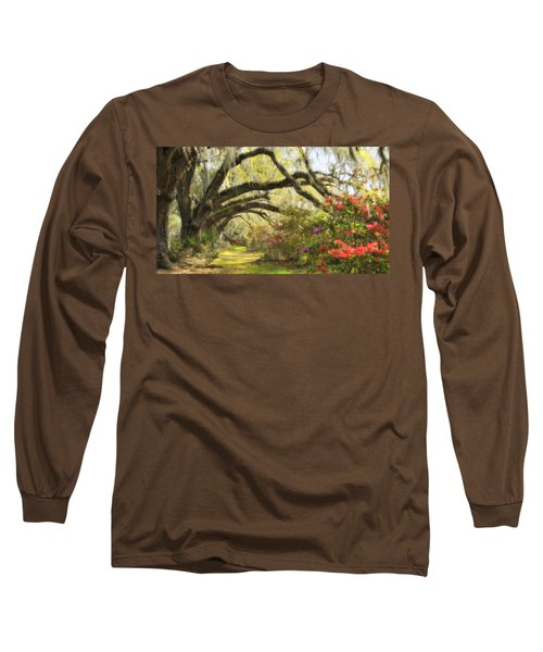 Oaks And Azaleas Long Sleeve T-Shirt