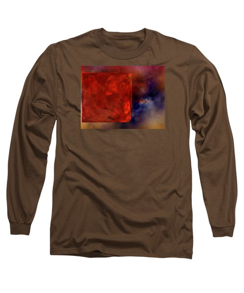 Long Sleeve T-Shirt featuring the digital art Obscure Blessings by Jeff Iverson
