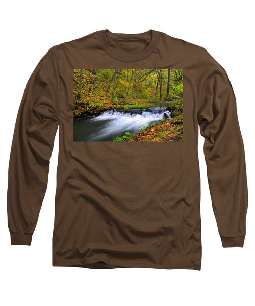 Off The Beaten Path Long Sleeve T-Shirt by Bonfire Photography