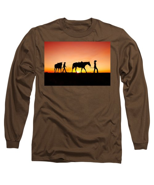 Off To The Barn Long Sleeve T-Shirt