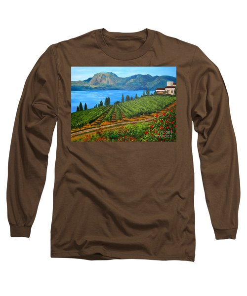 Okanagan Vineyard Long Sleeve T-Shirt