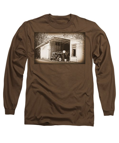 Long Sleeve T-Shirt featuring the photograph Old Ford by Faith Williams