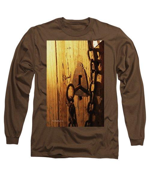 Old Lock And Key Long Sleeve T-Shirt
