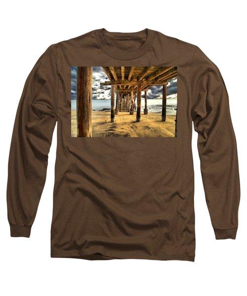 Old Pillar Point Pier Long Sleeve T-Shirt