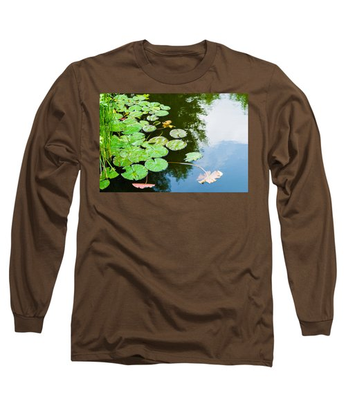 Old Pond - Featured 3 Long Sleeve T-Shirt by Alexander Senin