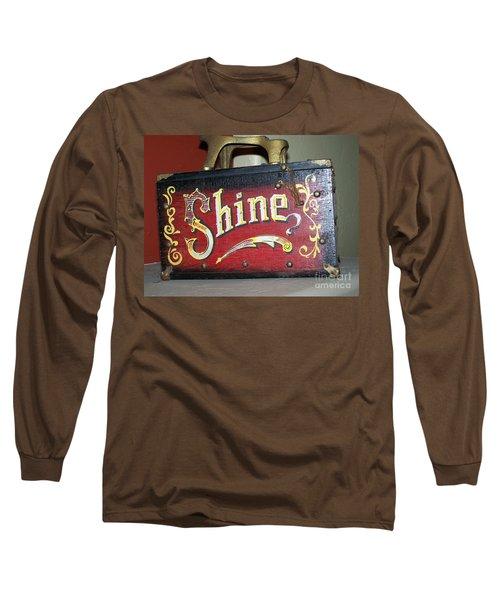 Old Shoe Shine Kit Long Sleeve T-Shirt