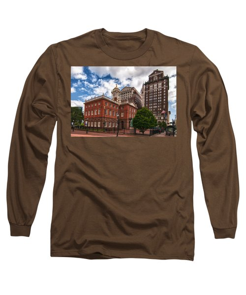 Old State House Long Sleeve T-Shirt by Guy Whiteley