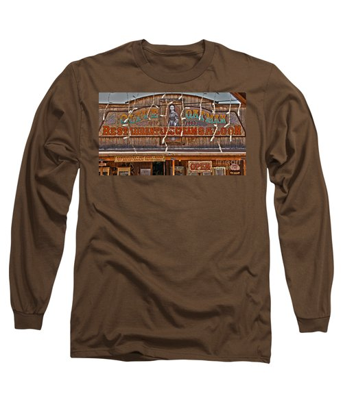 Old Town Saloon Long Sleeve T-Shirt