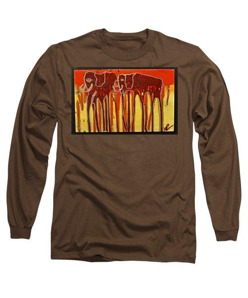 Oliphaunts Long Sleeve T-Shirt by Mario Perron