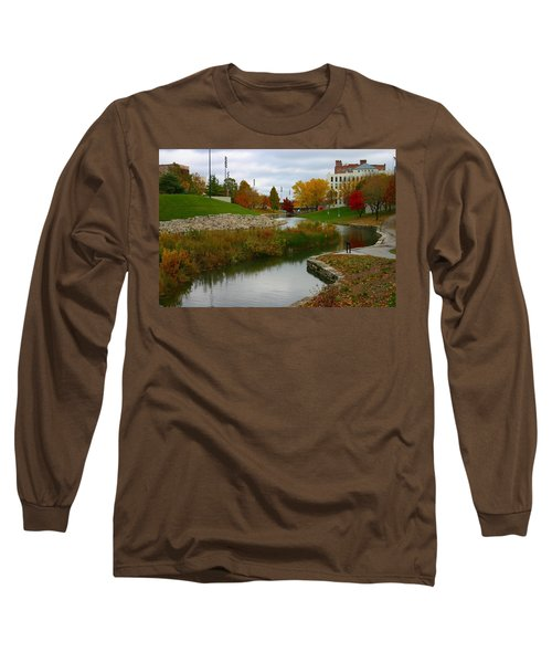 Long Sleeve T-Shirt featuring the photograph Omaha In Color by Elizabeth Winter