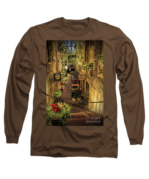 Omaha's Old Market Passageway Long Sleeve T-Shirt