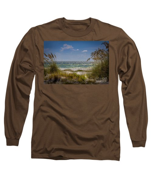 On A Clear Day Long Sleeve T-Shirt by Marvin Spates