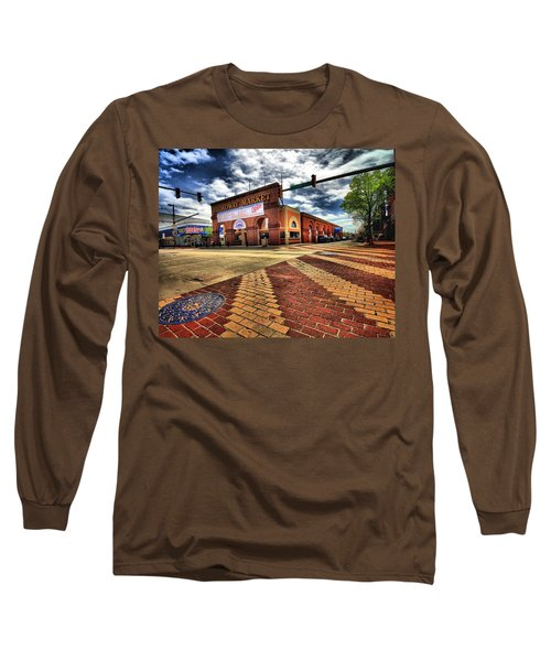 On Broadway Long Sleeve T-Shirt by Robert McCubbin
