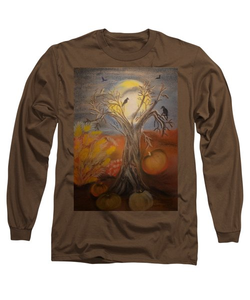 One Hallowed Eve Long Sleeve T-Shirt by Maria Urso