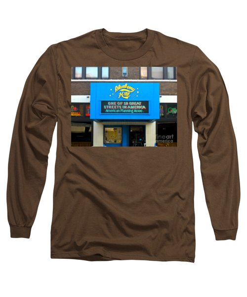 One Of Ten Great Streets In America Long Sleeve T-Shirt
