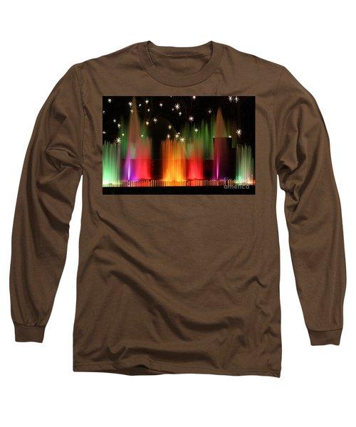 Open Air Theatre Rainbow Fountain Long Sleeve T-Shirt