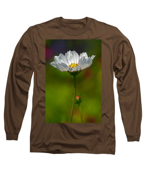 Long Sleeve T-Shirt featuring the photograph Open For All by Byron Varvarigos