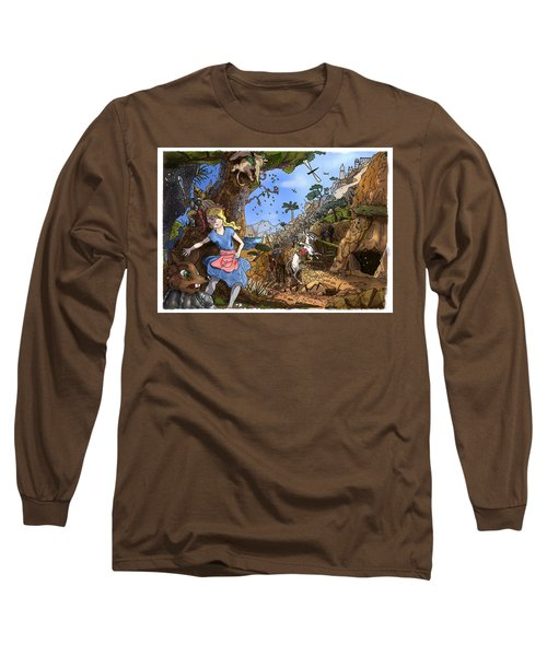 Long Sleeve T-Shirt featuring the painting Open Sesame by Reynold Jay