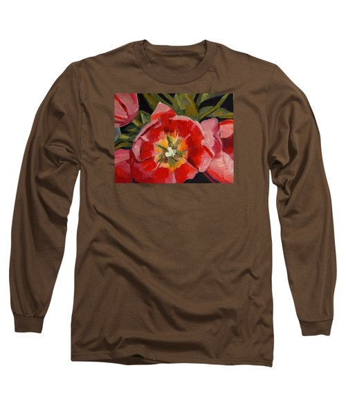 Opening Long Sleeve T-Shirt by Pattie Wall