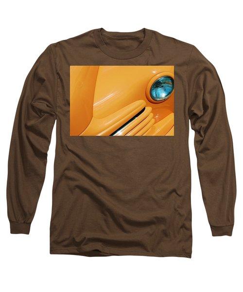 Orange Car Long Sleeve T-Shirt by Daniel Thompson