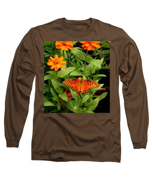 Orange Creatures Long Sleeve T-Shirt