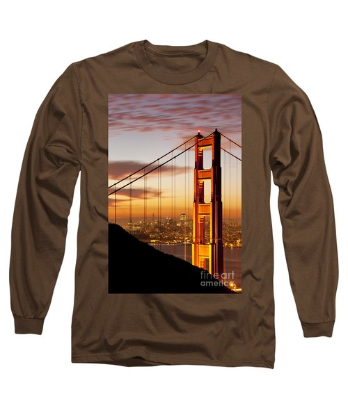 Orange Light At Dawn Long Sleeve T-Shirt