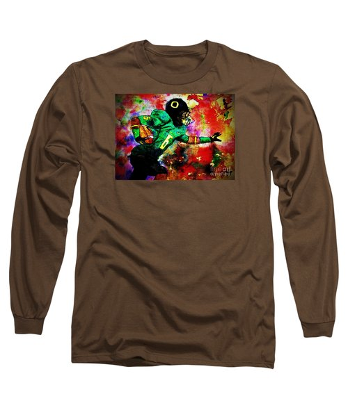 Oregon Football 3 Long Sleeve T-Shirt