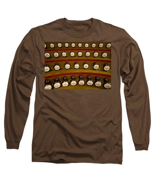 Organ Stops Long Sleeve T-Shirt