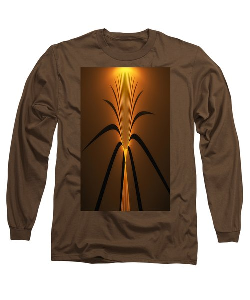 Oriental Vase Long Sleeve T-Shirt by GJ Blackman
