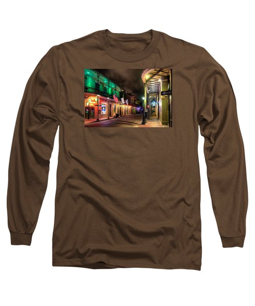 Long Sleeve T-Shirt featuring the photograph Orleans And Bourbon by Tim Stanley