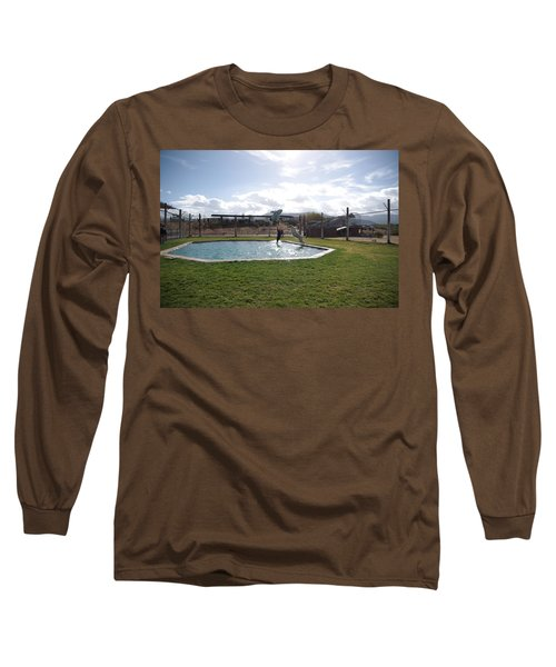 Out Of Africa  Tiger Splash 5 Long Sleeve T-Shirt