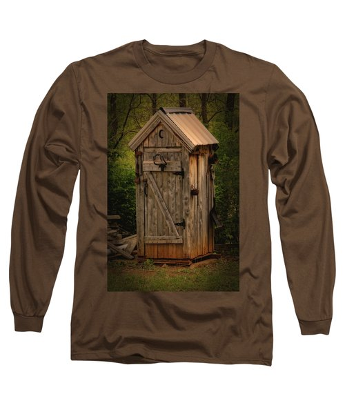 Outhous Caledonia Mo Dsc04010 Long Sleeve T-Shirt by Greg Kluempers