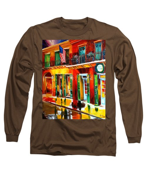 Outside Pat O'brien's Bar Long Sleeve T-Shirt