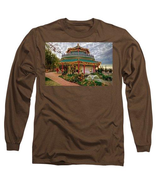 Pagoda In Norfolk Virginia Long Sleeve T-Shirt