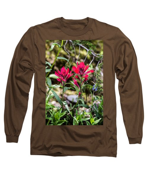 Paintbrush Long Sleeve T-Shirt