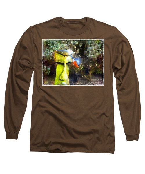Painted Bullfinch S3 Long Sleeve T-Shirt