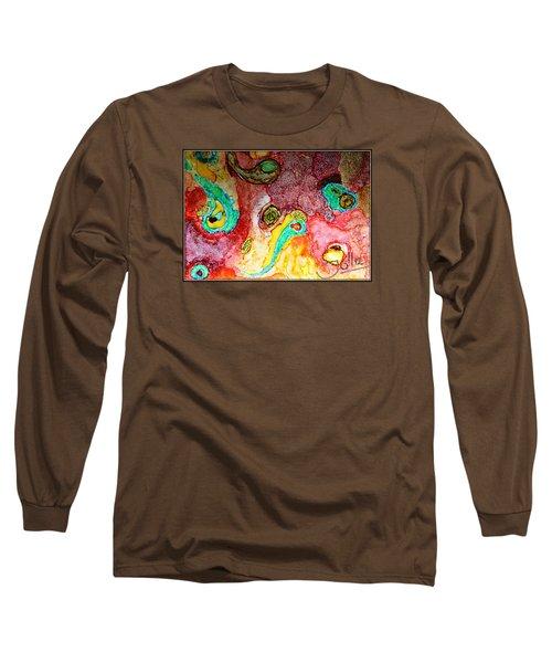 Paisley Whispers.. Long Sleeve T-Shirt