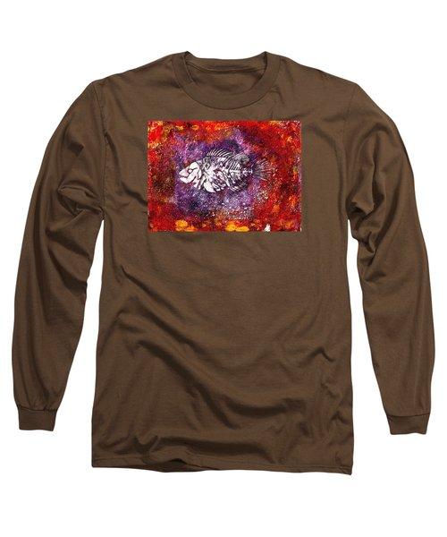 Paleo Fish Long Sleeve T-Shirt