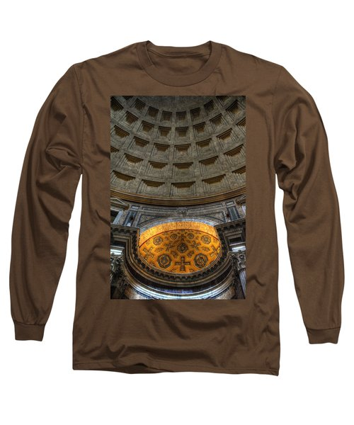 Pantheon Ceiling Detail Long Sleeve T-Shirt