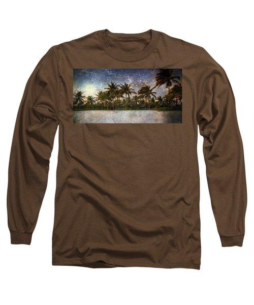 Paradise Found Long Sleeve T-Shirt by Ellen Heaverlo